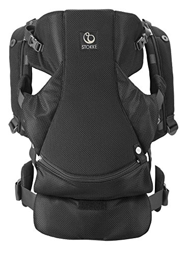 Stokke MyCarrier Front and Back Carrier, Black Mesh
