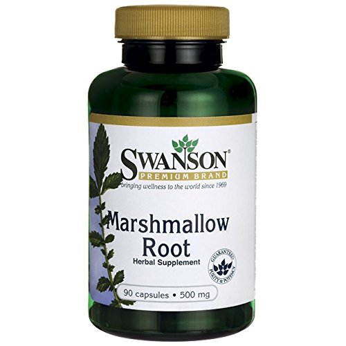 Swanson Marshmallow Root 500 mg 90 Caps