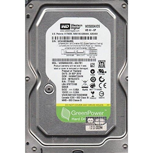 Western Digital WD5000AAKX 500GB Internal Hard Drive (Blue) - 5