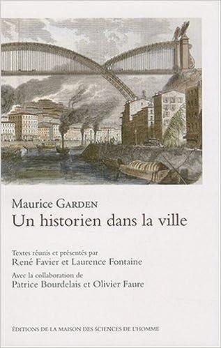 Livre Un historien dans la ville pdf