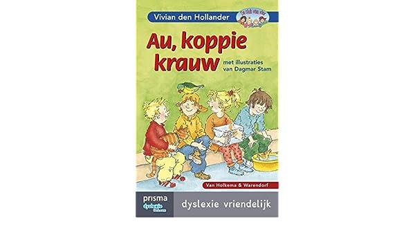 Amazon.com: Au, koppie krauw (De club van vier) (Dutch Edition ...