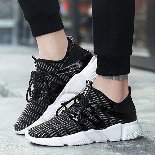 Chaussures Maille Black Décontractées 079 Hommes Chaussures Respirantes pour Les Légères FZDX Confortables CUdOU