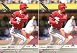#3: Shohei Ohtani 2018 Topps Now #5 Baseball Rookie Card Lot of 2 - English Version and Japanese Version