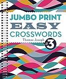 img - for Jumbo Print Easy Crosswords #3 (Large Print Crosswords) book / textbook / text book