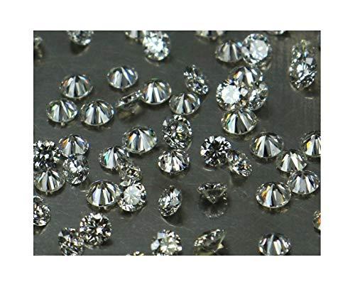 Narshiha Natural Loose Diamond Round Shape G-H Color VS1-SI1 Clarity 0.90 MM 25 Pcs Lot NQ17