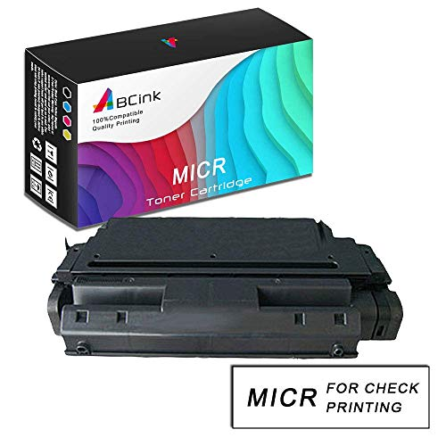 ABCink Compatible MICR Toner Cartridge Replacements for HP C3909A 09A,for use in HP 5si 5si Mopier 5si mx 5si nx 8000 8000dn 8000mfp 8000n Mopier 240,45k Yields(1 Pack,Black)