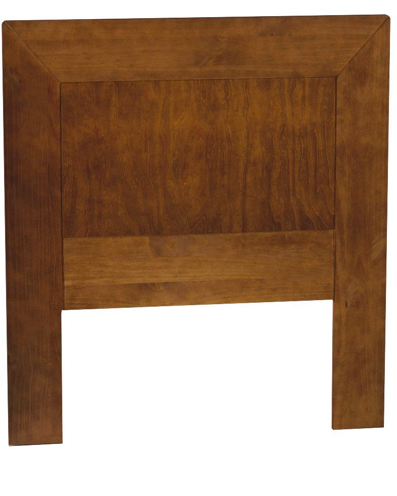 Dogar Kynus - Cabecero somier, 110 x 100 x 2 cm, madera, color cerezo
