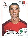 #10: 2018 Panini World Cup Stickers Russia #130 Cristiano Ronaldo Portugal Soccer Sticker
