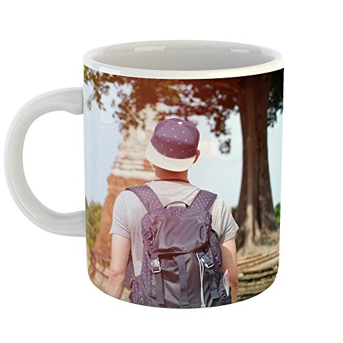 Westlake Art - Girl Temple - 11oz Coffee Cup Mug - Modern Picture Photography Artwork Home Office Birthday Gift - 11 Ounce (3773-68EE9)
