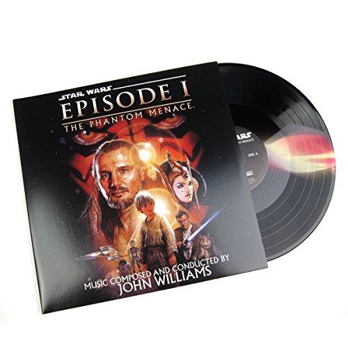 John Williams: Star Wars - The Phantom Menace Soundtrack (Darth Maul Colored Vinyl) Vinyl 2LP