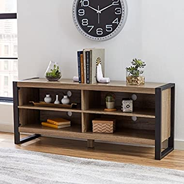 Theodulus 24  Standard Wood Bookcase with Shelves - Brown