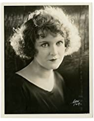 Vintage Antique Early 1900's Black & White Photograph May Allison Silent Film Starlet Witzel Portrait