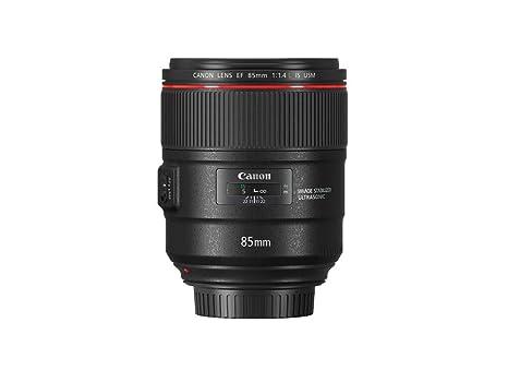 Canon EF 85mm F/1.4L IS USM - Teleobjetivo para cámara (Longitud ...