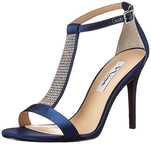 Nina Women's Cabaret-YS Dress Sandal, New Navy, 8 M US