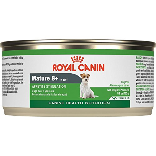 Royal Canin Mature Canned Dog Food for 8+ Aged, 5.8-Ounce Cans Net WT 8.7 lb (3.9kg) ( Pack of 24 )