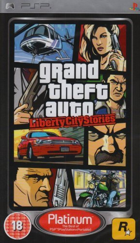 Grand Theft Auto  Liberty City Stories   Platinum Edition  Psp  By Take 2