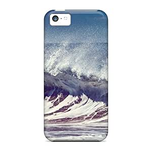 Cynthaskey MrNjMnm6568FAPxN Case Cover Skin For Iphone 5c (waves)