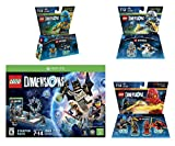 Lego Dimensions Starter Pack + Ninjago Team Pack + Jay Fun Pack + Zane Fun Packs for Xbox One or Xbox One S Console