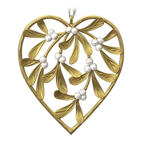 "Hallmark Keepsake Christmas Ornament 2018 Year Dated: Hallmark Keepsake 2016 ""Our First"" Heart Dated Holiday"