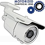 Ventech HD 1200TVL 72 IR LED AWESOME Quality Video CCTV cmos 960h Bullet Camera Home Security Day/Night Infrared IR night Vision Indoor Varifocal 2.8mm-12mm For Sale