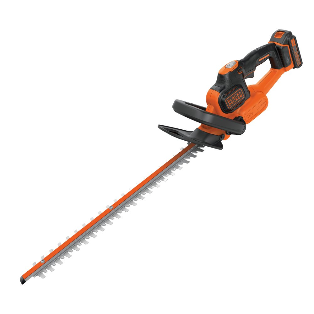 BLACK+DECKER 18V Cordless 45cm Anti-Jam Hedge Trimmer - Bare Unit (Battery not Included) GTC18452PCB-XJ