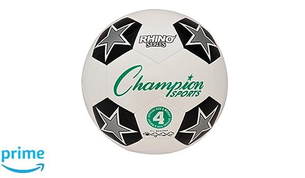 Champion Sport RX balón de fútbol, Verde y Negro: Amazon.es ...