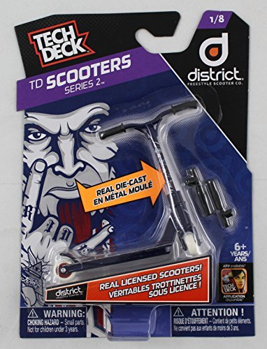Tech Deck TD Scooters Series 2 District Freestyle Scooter Co. Scooters 1/8