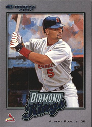 2002 Kings Diamond Donruss - 2002 Donruss Diamond Kings Inserts #DK17 Albert Pujols Serial #'d/2500