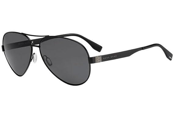 Hugo Boss Boss 0691/F/S RA 003 Gafas de sol, Negro (Matt ...