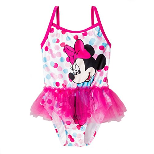 Minnie Mouse Girls Swimwear Swimsuit (Baby/Toddler/Little Kid)