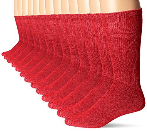 Calcetines para jóvenes Martin, rojos, grandes