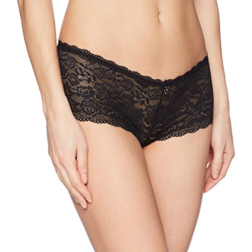 Aubade Women's Rosessence Saint-Tropez Brief, Black, L