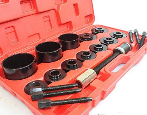 PMD Products 17pc Master Set Front Wheel Hub Drive Bearing Tamer Removal Install Service Kit (Service Bearing Set)
