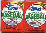 100 TOPPS FLEER DONRUSS BASEBALL CARD LOT ~ 1981 to 1987~SEALED WAX PACKS ESTATE SALE WAREHOUSE FIND!