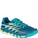 Merrell Women's All Out Peak Trail Running Shoe, Light Green, 7.5 M US