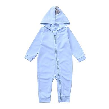 b376d54c113f Amazon.com  Outtop(TM) Baby Boy Girl Jumpsuit Romper Newborn Infant ...