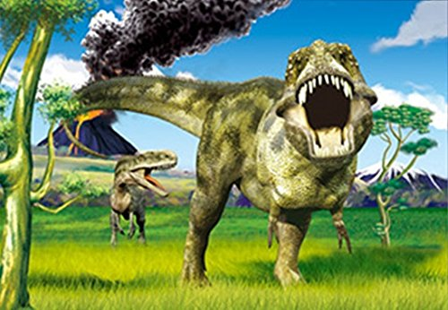 DINOSAURS UNFRAMED Wall Art-Posters That FLIP and CHANGE images-Lenticular Technology Artwork--MULTIPLE PICTURES IN ONE--HOLOGRAM Images Change--Holographic Technology by THOSE FLIPPING PICTURES