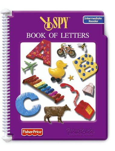 Fisher Price PowerTouch Learning System- I SPY Book of