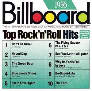 Bildergebnis für musik charts bilder 1956