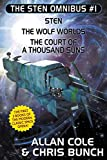 img - for The Sten Omnibus #1: Sten, The Wolf Worlds, The Court of a Thousand Suns book / textbook / text book