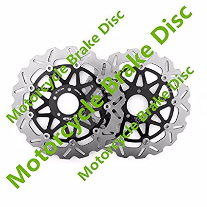 Amazon.com: GOWE Quality Parts Motorcycle Brake Disc Front ...