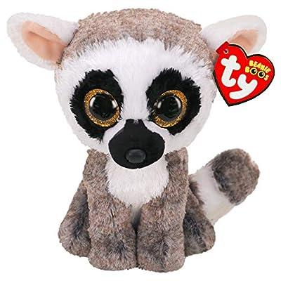 """Ty Beanie Boo Linus - Lemur 6"""": Toys & Games"""