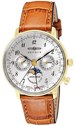 ZEPPELIN watch Hindenburg Silver Dial 7039-1 Men's parallel import goods]