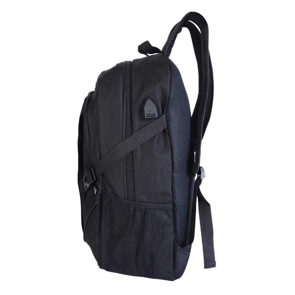 Dunkelblau Vertvie Laptop-Rucksack-Gesch/äfts-Antidiebstahl-Wasserdichte Reise-Schultasche mit USB f/ür Frauen-M/änner