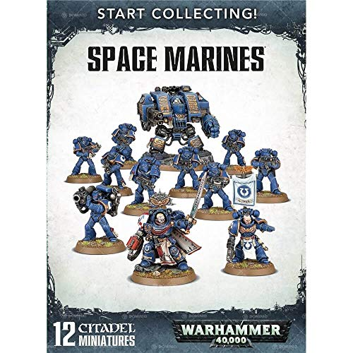 Games Workshop Warhammer 40,000 Start Collecting! Space Marines - Space Warhammer 40k Marine