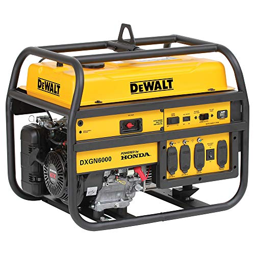 DeWalt PD532MHI005, 5300 Running Watts/6000 Starting Watts, Gas Powered Portable Generator