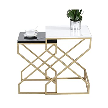 Zr Table Murale Table D Appoint 2 Pieces Imbriquee