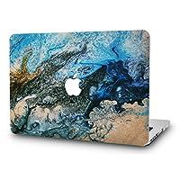 KEC Laptop Case for MacBook Air 13 Inch Plastic Case Hard Shell Cover A1466/A1369 (Not Compatible 2018 Mac Air 13 Retina A1932) (Sea)
