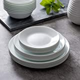 Corelle Dinner Plates, 8-Piece, Winter Frost White