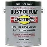 RUST-OLEUM 242251 Professional Gallon Flat Black Protective Enamel